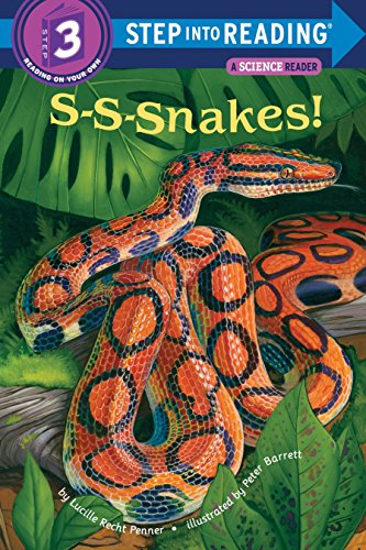 9780679847779: S-S-snakes! (Step-Into-Reading, Step 3)
