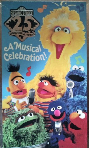 9780679850663: Sesame Street 25 Wonderful Years: A Musical Celebration! [VHS]