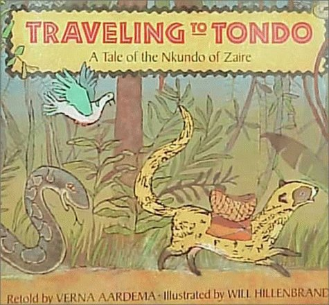 9780679853091: Traveling to Tondo: A Tale of the Nkundo of Zaire (Dragonfly Paperback)