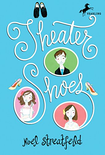 Theater Shoes 9780679854340 Three orphans are forced to enter a theater school by their grandmother, a famous actress. Unable to pay the tuition, they are given scholarships from the now-grown orphans from Ballet Shoes. Will they be able to live up to their patrons' legacies? The children are ready to run away—until they discover their hidden talents. Originally published in 1945.