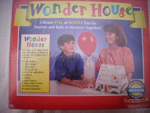 9780679858041: Wonder House: A House Full of Science Fun for Parents and Kids to Discover Together!/Book and Science Experiment Materials/Ages 4 and Up