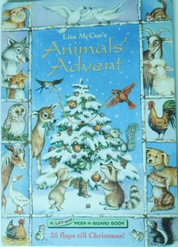 9780679860150: The Animals' Advent (Lift-and-Peek-a-Boards)