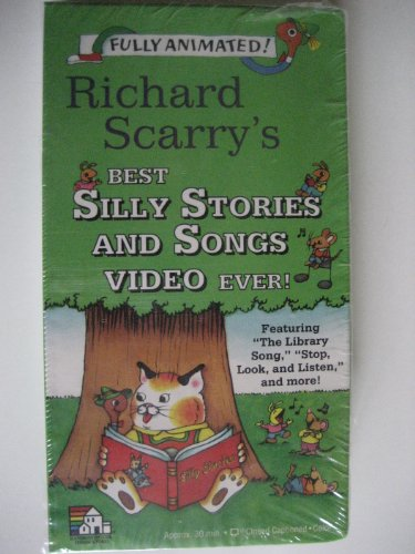 9780679861447: Richard Scarry's Best Silly Stories and Songs Video Ever! [VHS]