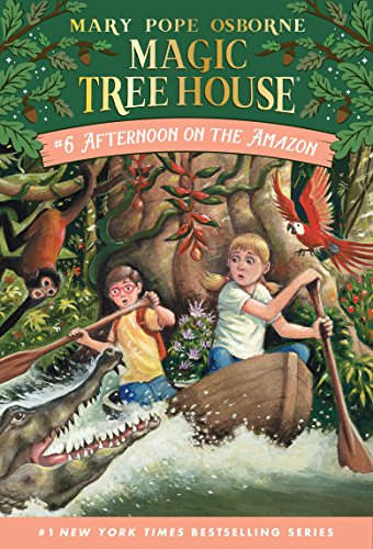 Afternoon on the Amazon (Magic Tree House, No. 6)