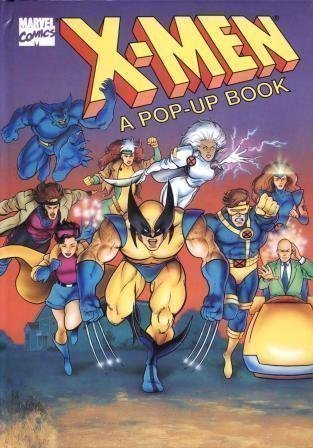 9780679863908: X-Men: A Pop-Up Book (Marvel Comics)
