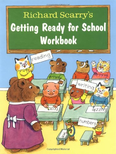 9780679865544: Richard Scarry's Getting Ready for School Workbook