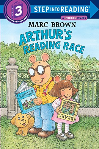 9780679867388: Arthur's Reading Race (Step-Into-Reading, Step 3)