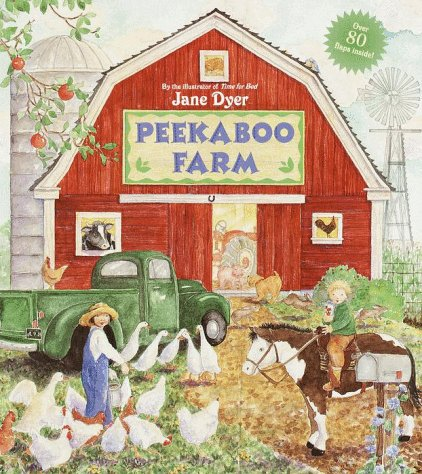 9780679870012: Peekaboo Farm (Great Big Flap Book)