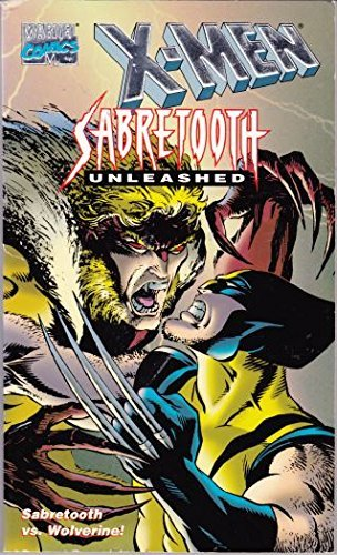 9780679876618: SABRETOOTH UNLEASHED (X-Men Marvel Comics)