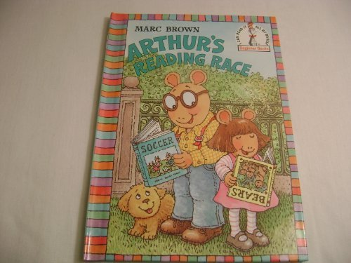 9780679880424: Arthur's Reading Race