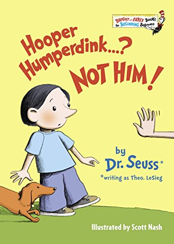 9780679881292: Hooper Humperdink...? Not Him! (Bright & Early Books(R))