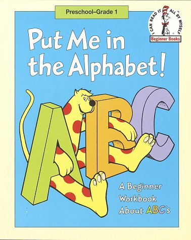9780679881643: Put Me in the Alphabet!: A Beginner Workbook About ABC'S (Beginner Fun Books)