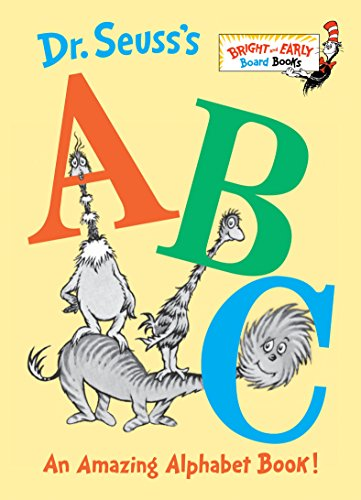 9780679882817: Dr. Seuss's ABC: An Amazing Alphabet Book! (Bright & Early Board Books)