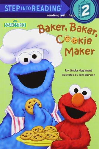 9780679883791: Baker, Baker, Cookie Maker (Sesame Street) (Step into Reading)