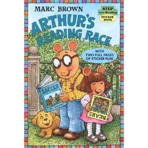 9780679883999: Arthur's Reading Race