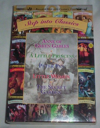 9780679884316: Step into Classics Boxed Set #2: (Contains Anne of Green Gables, A Little Princess, Little Women, Peter Pan, The Secret Garden)