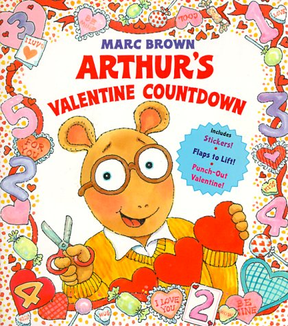 9780679884750: Arthur's Valentine Countdown (Board Book with Stickers, Flaps to Lift, and a Punch-Out Valentine)
