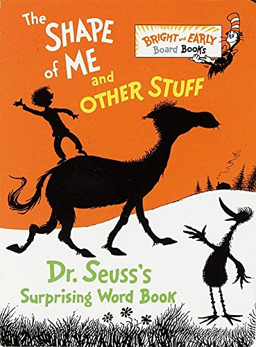 9780679886310: The Shape of Me and Other Stuff: Dr. Seuss's Surprising Word Book