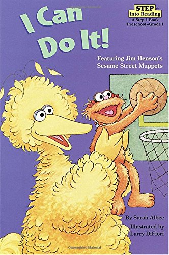 9780679886877: I Can Do It! (Sesame Street) (Step into Reading)