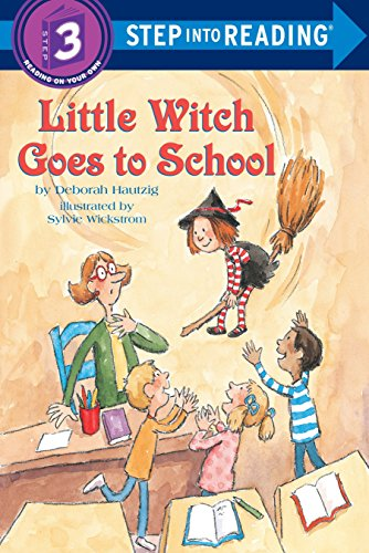 9780679887386: Little Witch Goes to School (Step into Reading)