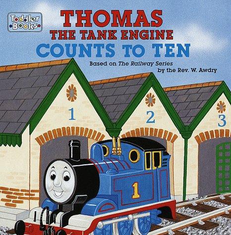 9780679888796: Thomas the Tank Engine Counts to Ten
