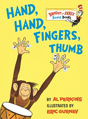 9780679890485: Hand, Hand, Fingers, Thumb (Bright & Early Board Books)