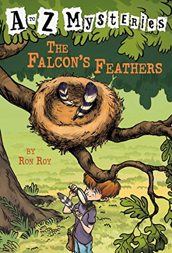 9780679890553: The Falcon's Feathers (A to Z Mysteries)