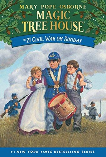 9780679890676: Civil War On Sunday (Magic Tree House #21)