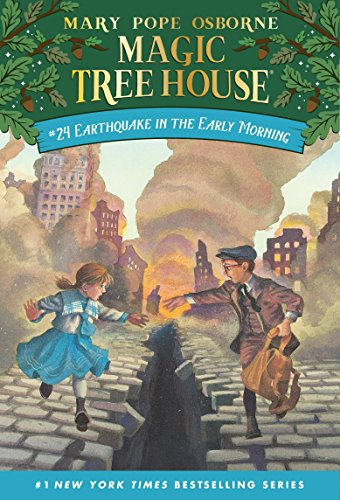 9780679890706: Magic Tree House #24: Earthquake in the Early Morning
