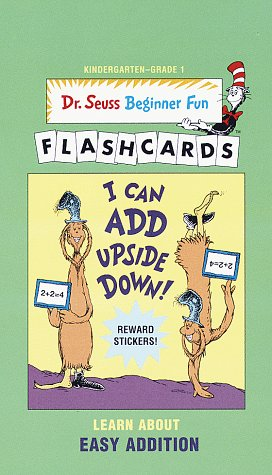 9780679890874: I Can Add Upside Down!-UPC Edition (Dr. Seuss Beg Fun Flashcrd(TM))