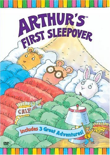 9780679891475: Arthur's First Sleepover (Plus Arthur's Lost Dog) [VHS]