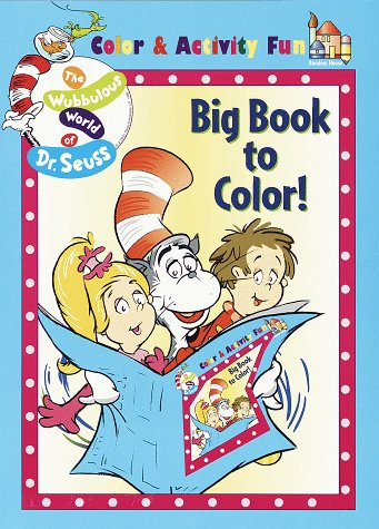 9780679891772: The Big Book to Color!: (Must be ordered in carton quantity) (The Wubbulous World of Dr. Seuss)