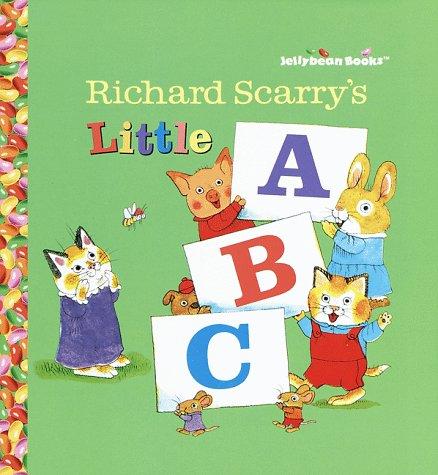 9780679892397: Richard Scarry's Little ABC (Jellybean Books(R))