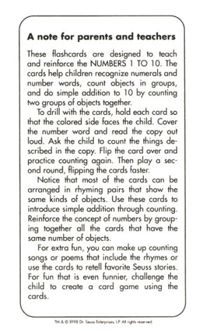 9780679892779: Oh The Things You Can Count (Beginner Flash Cards, Preschool-Kindergarden)