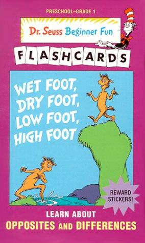 9780679892809: Wet Foot Dry Foot (Beginner Flash Cards, Preschool - Grade 1)