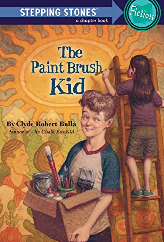9780679892823: The Paint Brush Kid (Stepping Stone Books)