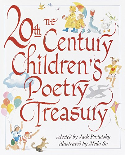 9780679893141: The 20th Century Children's Poetry Treasury (Treasured Gifts for the Holidays)