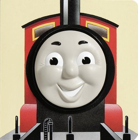 9780679893899: James the Red Engine (Thomas Face Board Books)