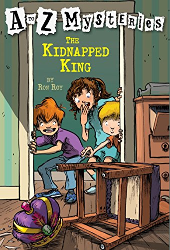 9780679894599: The Kidnapped King (A to Z Mysteries)