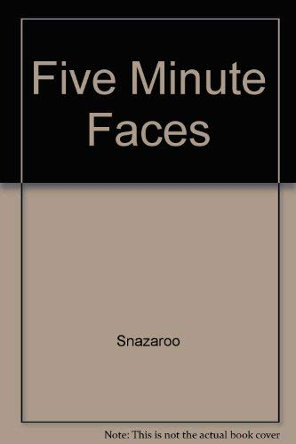 9780679928102: Five Minute Faces