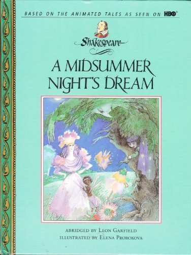 9780679938705: A MIDSUMMER'S NIGHT DREAM (Shakespeare: the Animated Tales)