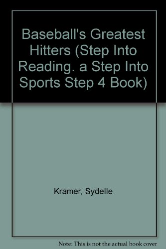 9780679953074: Baseball's Greatest Hitters (Step into Reading. a Step into Sports Step 4 Book)