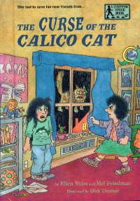 9780679954057: THE CURSE OF THE CALICO CAT (Stepping Stone Books)