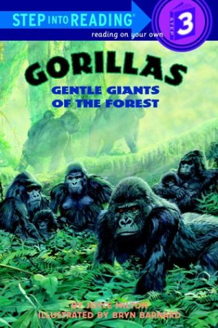 9780679972846: Gorillas: Gentle Giants of the Forest (Step-Into-Reading, Step 3)