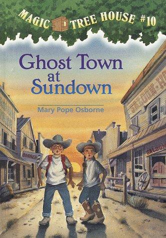 9780679983392: Magic Tree House #10: Ghost Town at Sundown