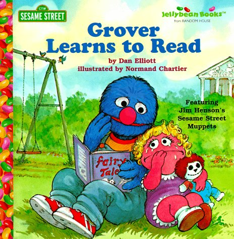 9780679993919: Grover Learns to Read (Jellybean Books)