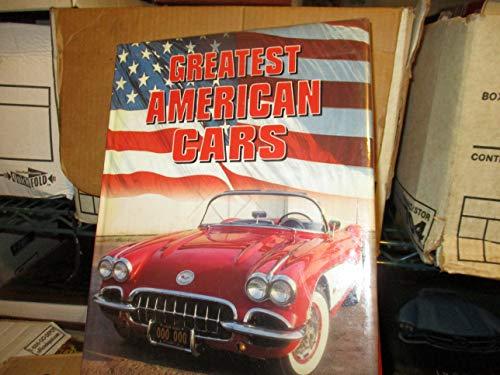 9780681031418: Greatest American Cars