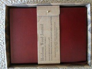 9780681126961: Heirloom Wood Journal - Cherry