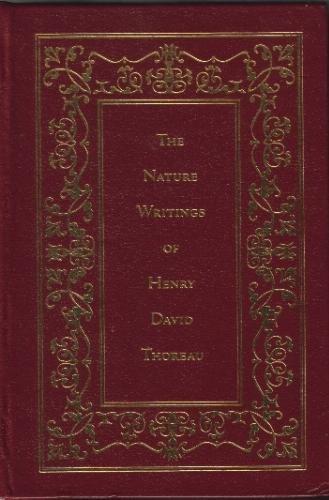 9780681219052: The Nature Writings of Henry David Thoreau