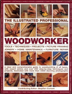 9780681228917: The Illustrated Professional Woodworker - Hardcover